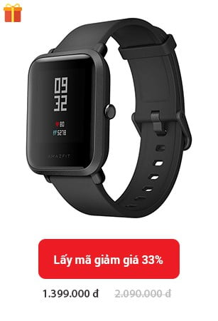 xiaomi amazfit bip dong ho chay bo the thao