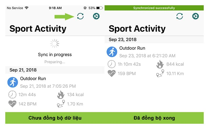 cach dong bo dong ho Amazfit Bip voi Strava