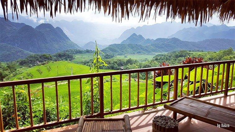 Pù Luông Retreat. Nơi bạn sẽ nghỉ lại khi tham gia Vietnam Jungle Marathon. Photo: by Haken.